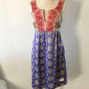 Odd Molly Silk Printed Dress